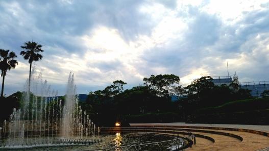 Memorials in Peace Park