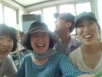 Having a blast with my homestay family in Yeosu.
