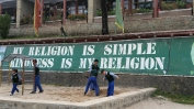 Wise words at a school for Tibetan refugee children